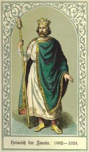 Picture of Saint Henry Emperor