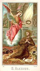 Picture of Saint Alexius of Rome, beggar