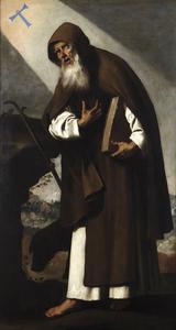 Retrato de San Antonio Abad