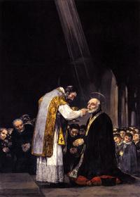 Retrato de San José de Calasanz
