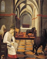 Retrato de San Marcelo I, Papa