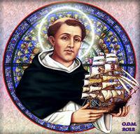 Retrato de San Telmo Confesor