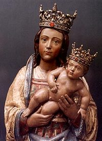 Picture of Our Lady of Almudena