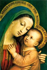 Picture of Our Lady of Good Counsel