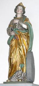 Retrato de Santa Cristina de Bolsena