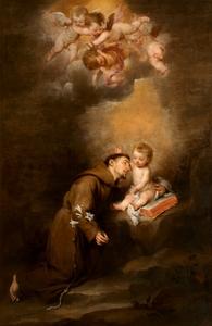 Retrato de San Antonio de Padua