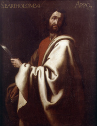Retrato de San Bartolomé apóstol