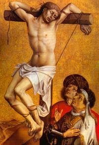 Retrato de San Dimas, el buen ladrón