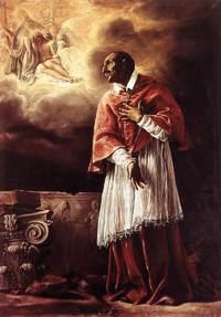 Retrato de San Carlos Borromeo