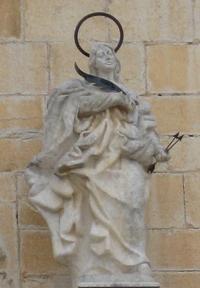Retrato de Santa Victoria de Córdoba