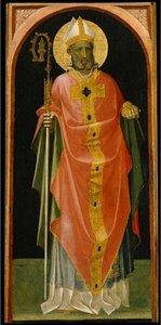 Retrato de San Nicolás de Bari