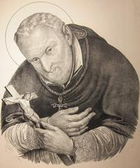 Retrato de San Alfonso María de Ligorio