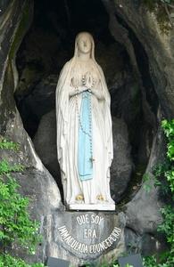Retrato de Bienaventurada Virgen María de Lourdes
