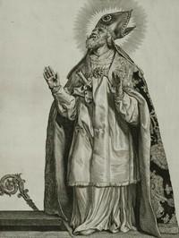 Retrato de San Federico de Utrecht