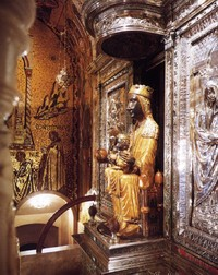 Picture of Mother of God of Montserrat