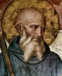 Retrato de San Benito de Nursia