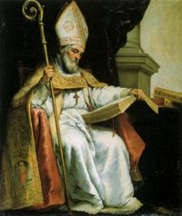 Picture of Saint Isidore of Seville