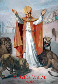 Retrato de San Félix de Nola