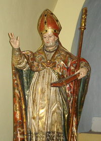 Retrato de Santo Toribio de Mogrovejo