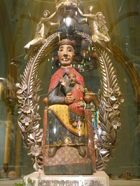 Picture of Our Lady of Nuria
